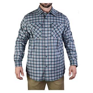 Vertx Long Sleeve Weapon Gaurdian Shirt Blue Plaid