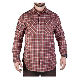 Vertx Long Sleeve Weapon Guardian Shirt Brick Plaid