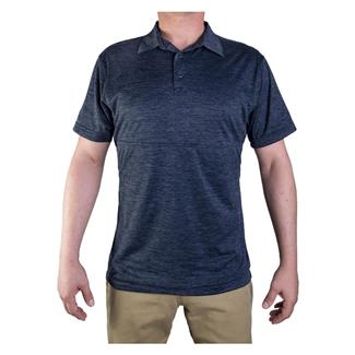 Vertx Weapon Guard Assessor Polo Heather Navy