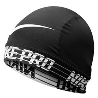 NIKE Pro Skull Cap 2.0 Black / White