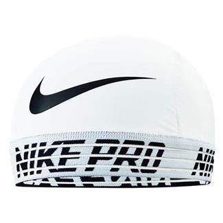 NIKE Pro Skull Cap 2.0 White / Black / White