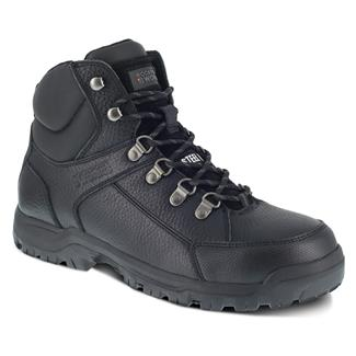 Rockport Works Lembert Hiker Mid Steel Toe Black