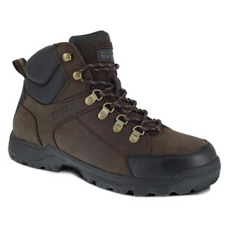 Rockport Works Lembert Hiker Mid Steel Toe Brown