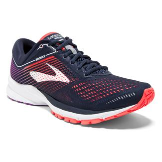 Brooks Launch 5 Navy / Coral / Purple