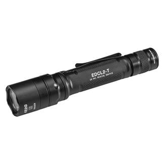 SureFire EDCL2 Dual-Output Everyday Carry LED Flashlight Black