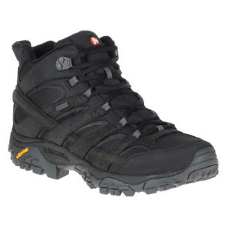 Merrell Moab 2 Smooth MID WP Black