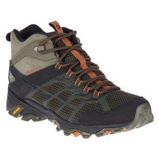 Merrell Moab FST 2 Mid WP Olive / Adobe