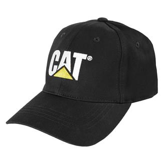 CAT Trademark Stretch Fit Hat Black