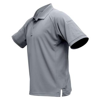 Vertx Coldblack Short Sleeve Polo Light Gray