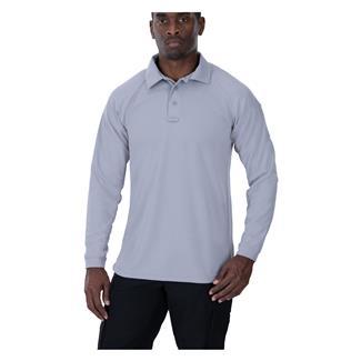 Vertx Coldblack Long Sleeve Polo Light Gray