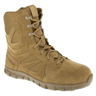 """Reebok 8"""" Sublite Cushion Tactical SZ CT Coyote Brown"""