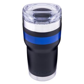 Pelican 22 oz Thin Blue Line Tumbler Black / Blue