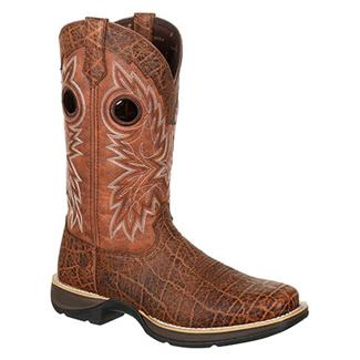 "Durango 12"" Rebel Faux Exotic Western Burnt Umber / Dark Brown"