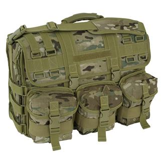 Mercury Tactical Gear Computer Messenger Bag MultiCam