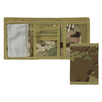 Mercury Tactical Gear Tri-Fold Wallet MultiCam