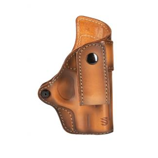 Blackhawk Premium Leather Inside the Pant Holster Burnished Brown