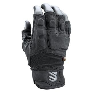Blackhawk SOLAG Instinct Half Gloves Black