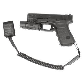 Blackhawk Tactical Pistol Lanyard Black Single Swivel