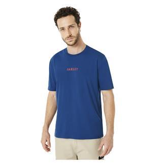 Oakley B1B Flag T-Shirt Dark Blue