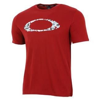 Oakley Ellipse Digital T-Shirt Iron Red