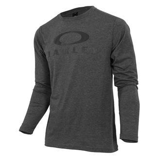 Oakley Enhance Technical QD Long Sleeve T-Shirt 18.11 Dark Heather Gray