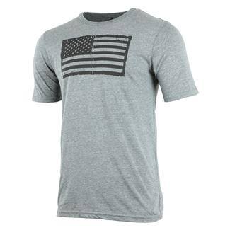 Oakley Infinite Hero Collection-Distress Flag T-Shirt Athletic Heather Gray