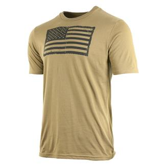 Oakley Infinite Hero Collection-Distress Flag T-Shirt Coyote