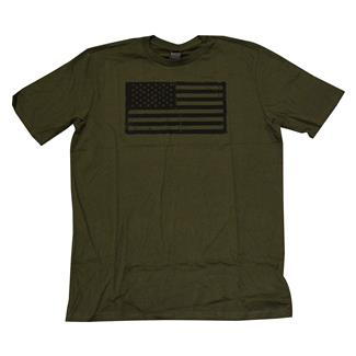 Oakley Infinite Hero Collection-Distress Flag T-Shirt Dark Brush