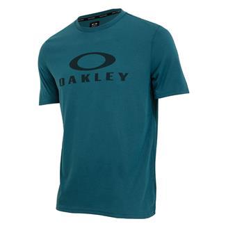 Oakley O-Bark T-Shirt Blue Coral