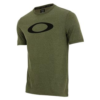 Oakley O-Bold Ellipse T-Shirt Dark Brush Light Heather