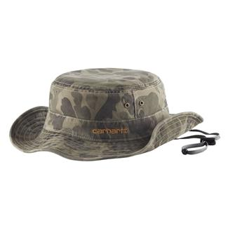 Carhartt Billings Boonie Hat Burnt Olive Camo