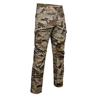Under Armour Enduro Cargo Stretch Ripstop Pants Ua Barren Camo Afs / Desert Sand