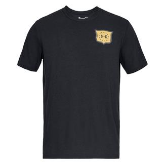 Under Armour Freedom Brave and Free Eagle T-Shirt Black / Graphite