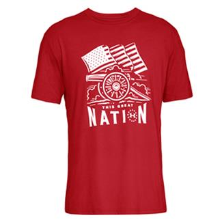 Under Armour Freedom Cannon T-Shirt Red / White