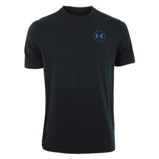 Under Armour Freedom Express Flag TBL T-Shirt Black / Graphite / Royal