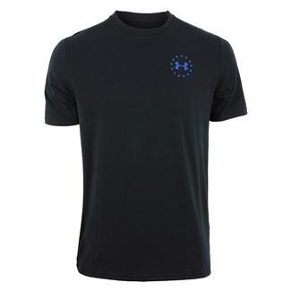 Under Armour Freedom Express Flag TBL T-Shirt Black / Graphite / Royal