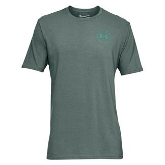 Under Armour Freedom Lady Liberty T-Shirt Toddy Green / Green Malachite