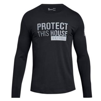 Under Armour Freedom Protect This House Long Sleeve 2.0 Black / Graphite / Steel