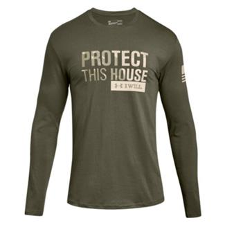 Under Armour Freedom Protect This House Long Sleeve 2.0 Marine OD Green / Desert Sand