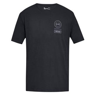 Under Armour Freedom Rattle T-Shirt Black / Steel