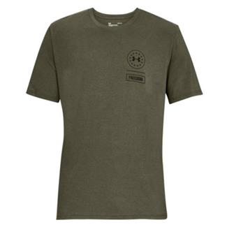 Under Armour Freedom Rattle T-Shirt Marine OD Green / Black