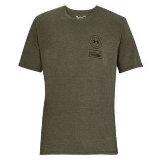 Under Armour Freedom Rattle T-Shirt Marine OD Green / Black