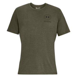 Under Armour Freedom Tactical Division T-Shirt Marine OD Green / Black