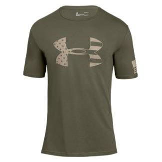 Under Armour Freedom Tonal BFL T-Shirt 2.0 Marine OD Green / Desert Sand