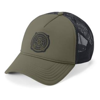 Under Armour  Freedom Trucker Cap Marine OD Green / Black