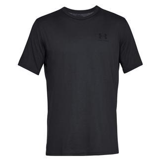 Under Armour Sportstyle Left Chest T-Shirt Black / Black