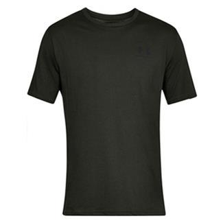 Under Armour Sportstyle Left Chest T-Shirt Artillery Green / Black