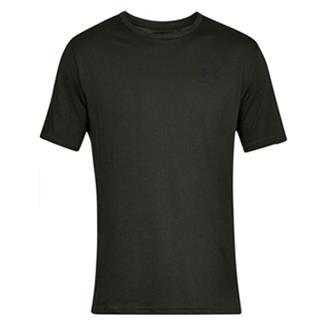 Under Armour Sportstyle Left Chest T-Shirt Artillery Green / Black