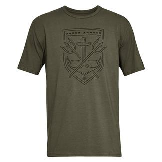 Under Armour Tactical Division T-Shirt Marine OD Green / Black