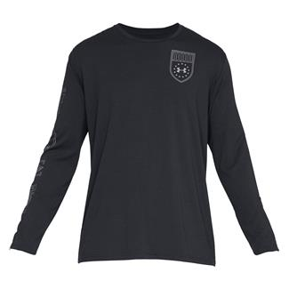 Under Armour Tactical Division Long Sleeve Black / Reflective